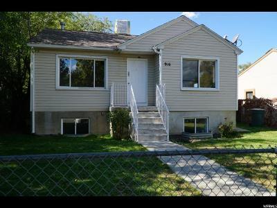 Salt Lake City Single Family Home For Sale: 916 S Pueblo