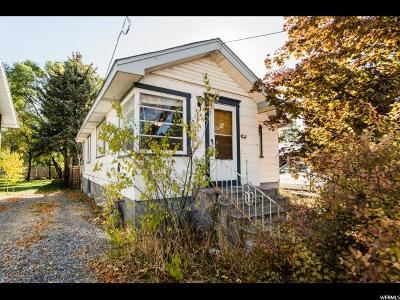 Logan Single Family Home For Sale: 62 W 500 N