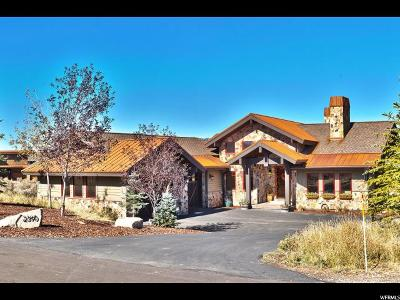 Park City Single Family Home For Sale: 2390 Westview Trl