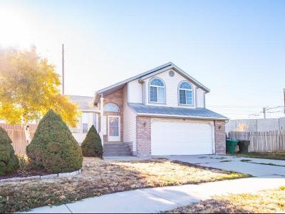 West Jordan Single Family Home For Sale: 8397 S Spaulding Ct