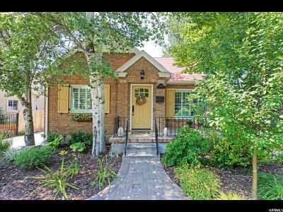 Salt Lake City Single Family Home For Sale: 2680 S Filmore St