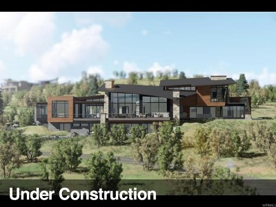 Park City Single Family Home For Sale: 9284 N Promontory Summit Dr