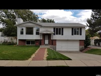 West Jordan Single Family Home For Sale: 9317 S 3825 W