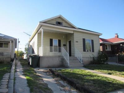 Salt Lake City Single Family Home For Sale: 460 S Post St W