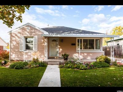 Salt Lake City Single Family Home For Sale: 2065 E Hollywood Ave