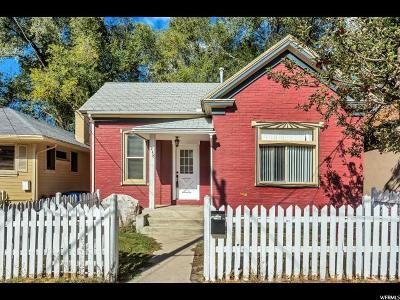 Salt Lake City Single Family Home For Sale: 248 W Fern Ave