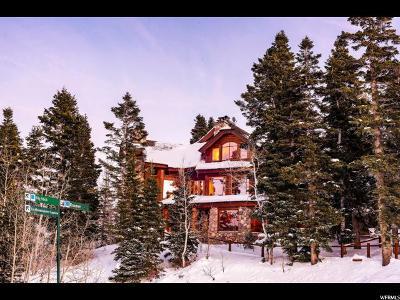 Park City Single Family Home For Sale: 7885 Bald Eagle Dr