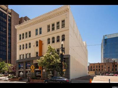 Salt Lake City Condo For Sale: 35 W 300 S #403