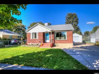 Salt Lake City Single Family Home For Sale: 1434 W 600 S