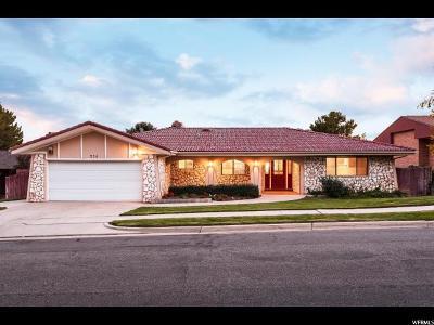 Salt Lake City Single Family Home For Sale: 214 N Sandrun Rd