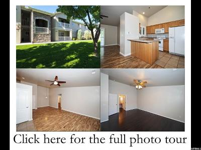 Salt Lake City Condo For Sale: 4004 S Chase Brook Ln #201
