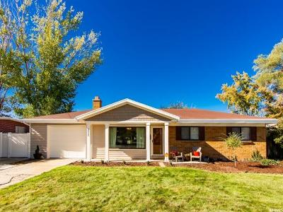 Holladay Single Family Home For Sale: 5512 S Edgewood Dr E