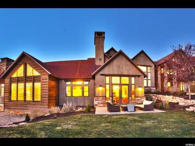 Park City Single Family Home For Sale: 2962 E West View Trl