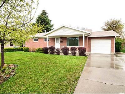 Holladay Single Family Home For Sale: 2025 E Terra Linda Dr
