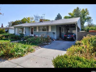 Salt Lake City Single Family Home For Sale: 1501 W 800 N