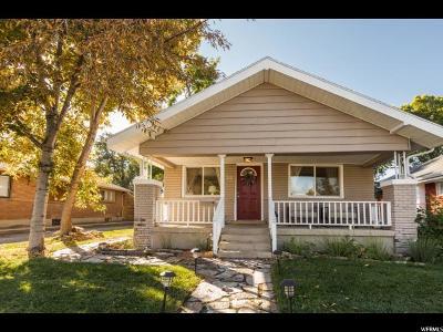 Salt Lake City Single Family Home For Sale: 316 E Milton Ave
