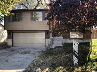 Salt Lake City Single Family Home For Sale: 5101 W Longmore S