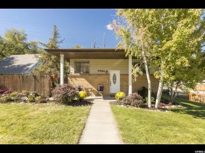 Salt Lake City Single Family Home For Sale: 7560 S Bridgewater Cir E