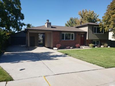 Salt Lake City Single Family Home For Sale: 4242 S King Valley Way W
