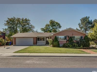 Orem Single Family Home For Sale: 749 W Sunny Ln