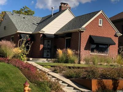 Salt Lake City Single Family Home For Sale: 935 S Fairview Ave