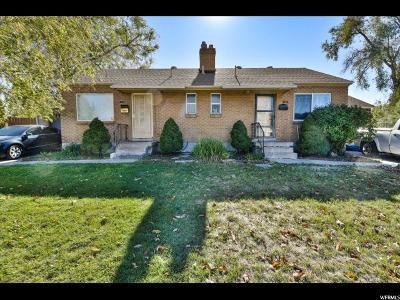 Salt Lake City Multi Family Home For Sale: 1161 S Navajo W