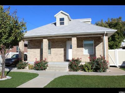 Spanish Fork Single Family Home For Sale: 144 N 100 W