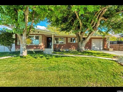 Bountiful UT Single Family Home For Sale: $295,000