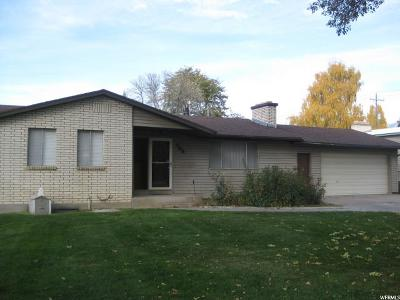 Smithfield Single Family Home Under Contract: 125 W 300 N