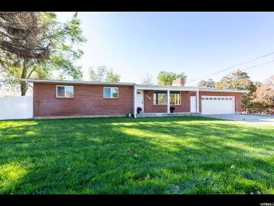 Brigham City Single Family Home For Sale: 515 W 700 S