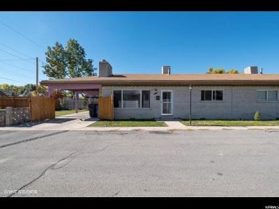 Salt Lake City Townhouse For Sale: 2690 S Masonic Cir E