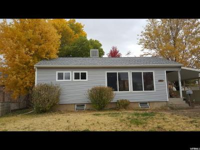 Weber County Single Family Home For Sale: 4620 S 250 W