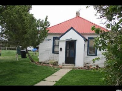 Single Family Home For Sale: 1027 Jefferson St