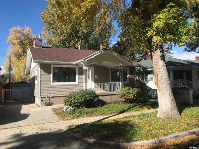 Salt Lake City Single Family Home For Sale: 2608 S Green St E