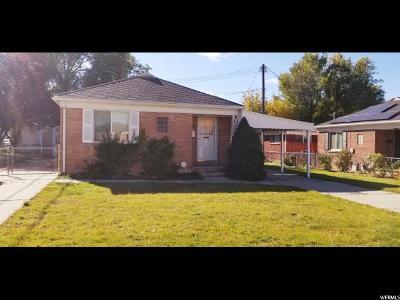 Salt Lake City Single Family Home For Sale: 814 E Hudson Ave