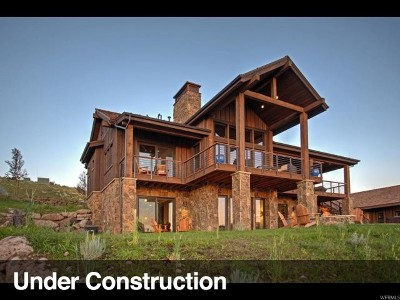 Wasatch County Single Family Home For Sale: 6741 E Moon Light Dr #112