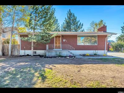 Murray Single Family Home For Sale: 605 W Anderson Ave