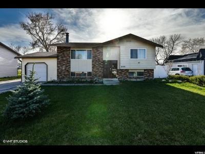 West Jordan Single Family Home For Sale: 6448 N Owensboro Dr