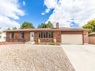 West Jordan Single Family Home For Sale: 7353 S Woodgreen Rd