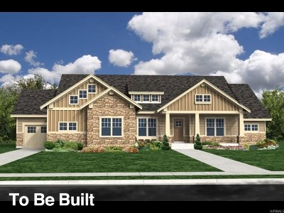 Heber City Single Family Home For Sale: 1501 E Clear View Ct #55