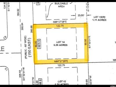Nibley Residential Lots & Land For Sale: 14 3880 S