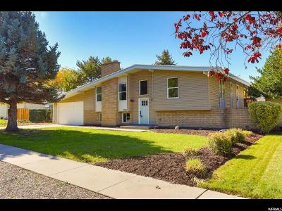 Salt Lake City Single Family Home For Sale: 5500 S Brockway Dr E