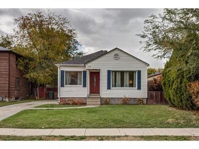 Salt Lake City Single Family Home For Sale: 2730 S 1300 E