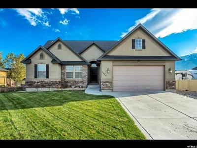 Santaquin Single Family Home For Sale: 1374 W Sageberry Dr S