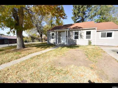 Davis County Single Family Home For Sale: 236 W 1900 N