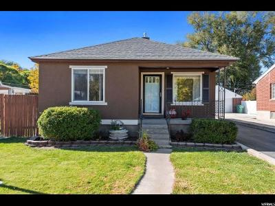 West Jordan Single Family Home For Sale: 7632 S 1530 W