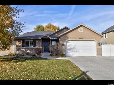 Herriman Single Family Home For Sale: 4606 W Marlin Ct S