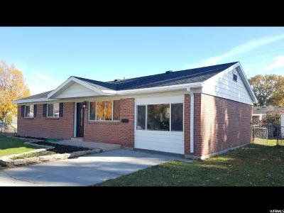 Tremonton Single Family Home For Sale: 865 S 150 W