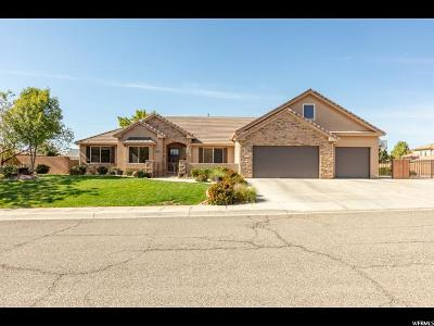 St. George Single Family Home For Sale: 2676 S 2110 E