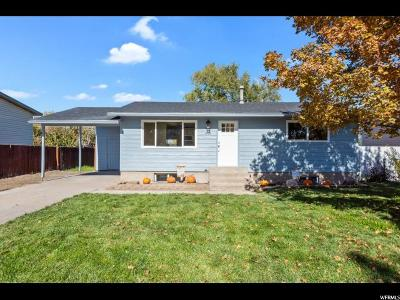 West Valley City Single Family Home For Sale: 6528 W 3820 S